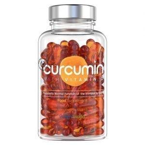 Curcumin 60 Kapsler | Naturligt tilskud med D3-vitamin